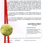 Agreement Attestation for Philippines in Sivakasi, Agreement Legalization for Philippines , Birth Certificate Attestation for Philippines in Sivakasi, Birth Certificate legalization for Philippines in Sivakasi, Board of Resolution Attestation for Philippines in Sivakasi, certificate Attestation agent for Philippines in Sivakasi, Certificate of Origin Attestation for Philippines in Sivakasi, Certificate of Origin Legalization for Philippines in Sivakasi, Commercial Document Attestation for Philippines in Sivakasi, Commercial Document Legalization for Philippines in Sivakasi, Degree certificate Attestation for Philippines in Sivakasi, Degree Certificate legalization for Philippines in Sivakasi, Birth certificate Attestation for Philippines , Diploma Certificate Attestation for Philippines in Sivakasi, Engineering Certificate Attestation for Philippines , Experience Certificate Attestation for Philippines in Sivakasi, Export documents Attestation for Philippines in Sivakasi, Export documents Legalization for Philippines in Sivakasi, Free Sale Certificate Attestation for Philippines in Sivakasi, GMP Certificate Attestation for Philippines in Sivakasi, HSC Certificate Attestation for Philippines in Sivakasi, Invoice Attestation for Philippines in Sivakasi, Invoice Legalization for Philippines in Sivakasi, marriage certificate Attestation for Philippines , Marriage Certificate Attestation for Philippines in Sivakasi, Sivakasi issued Marriage Certificate legalization for Philippines , Medical Certificate Attestation for Philippines , NOC Affidavit Attestation for Philippines in Sivakasi, Packing List Attestation for Philippines in Sivakasi, Packing List Legalization for Philippines in Sivakasi, PCC Attestation for Philippines in Sivakasi, POA Attestation for Philippines in Sivakasi, Police Clearance Certificate Attestation for Philippines in Sivakasi, Power of Attorney Attestation for Philippines in Sivakasi, Registration Certificate Attestation for Philippines in Sivakasi